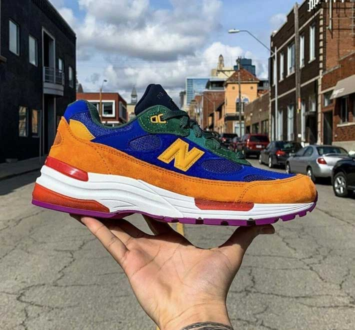 New Balance 992 Multi Color