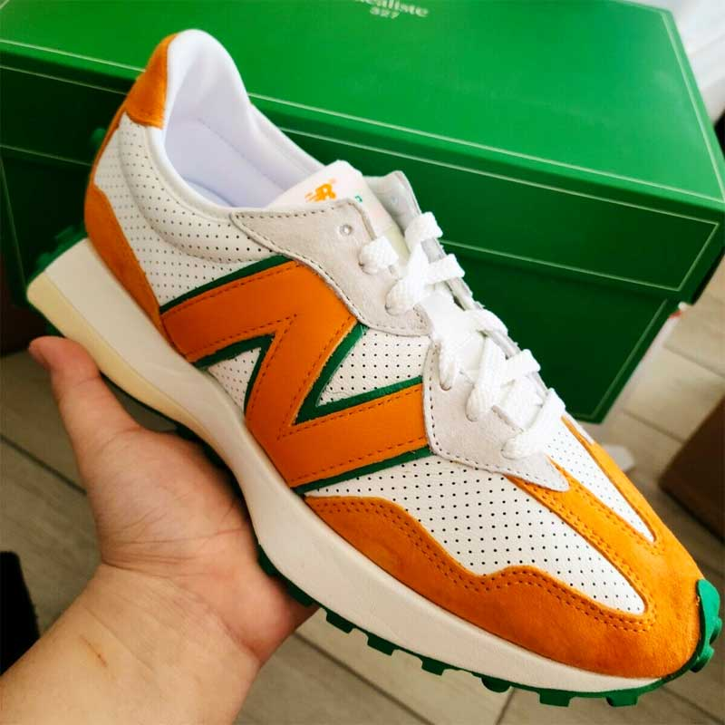 New Balance Casablance 327 Orange