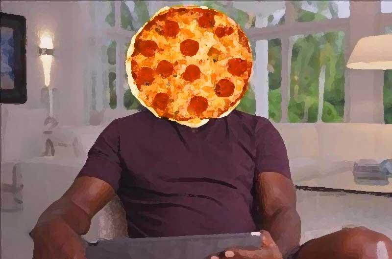 Michael Jordan Flu Game Pizza