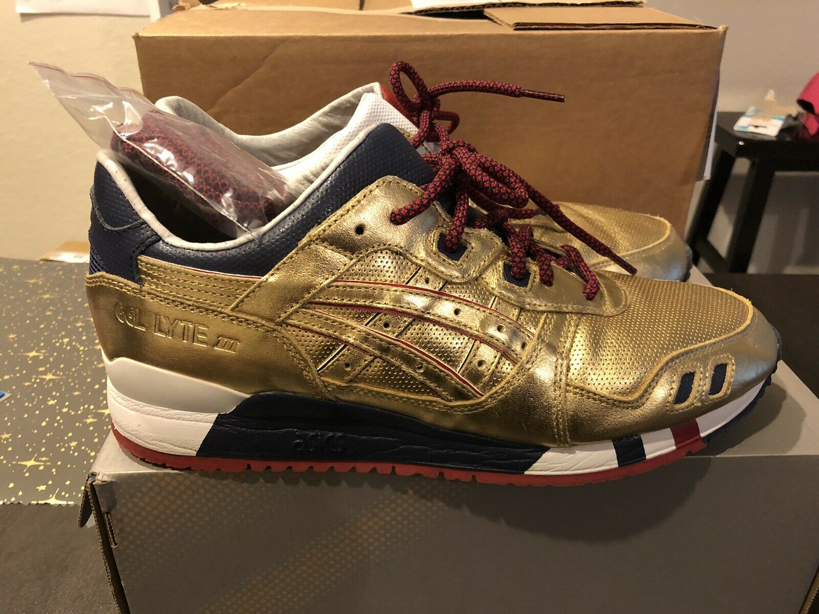 ASICS Gel Lyte III KFE USA Gold