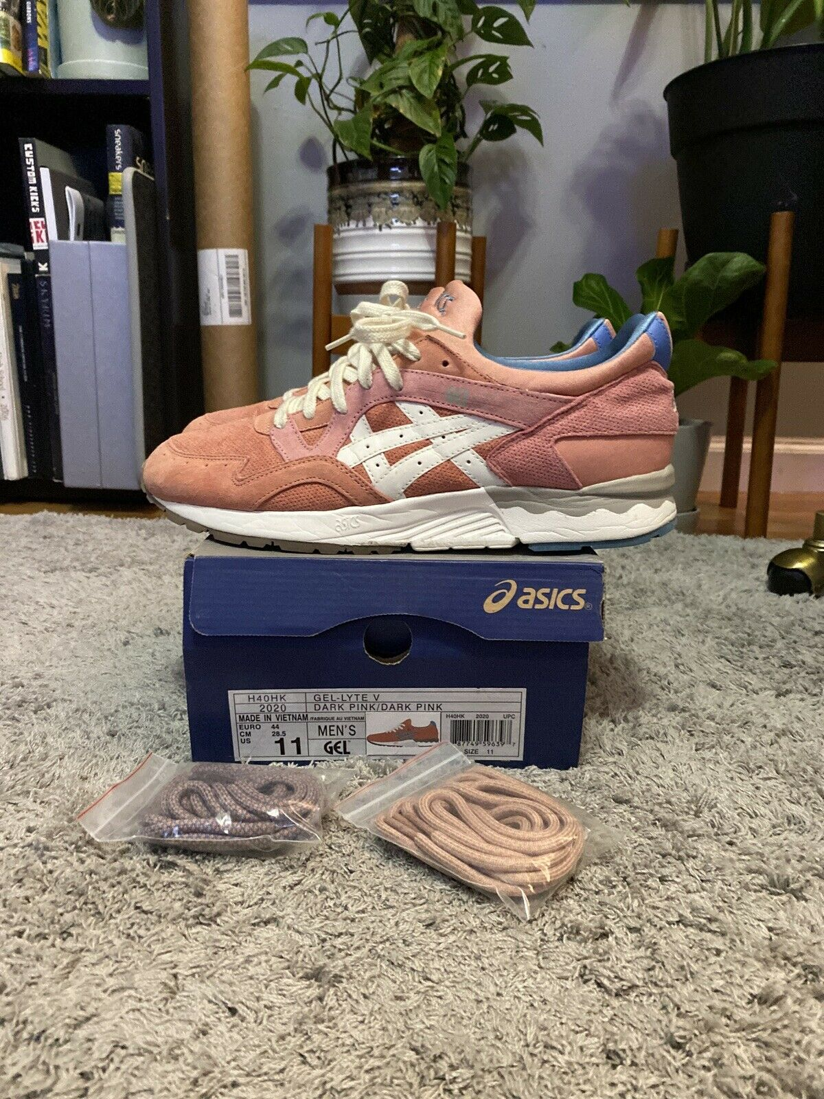 ASICS Gel Lyte V Ronnie Fieg Rose Gold