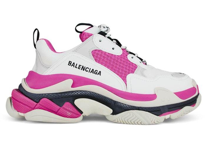 Balenciaga Triple S Pink White W