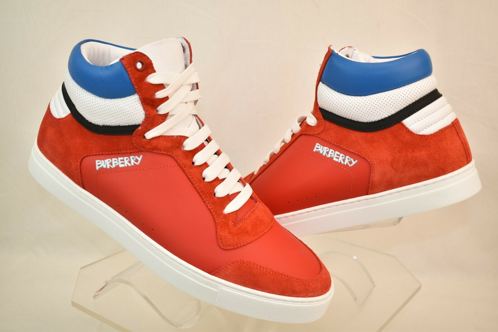 Burberry Reeth Red Suede