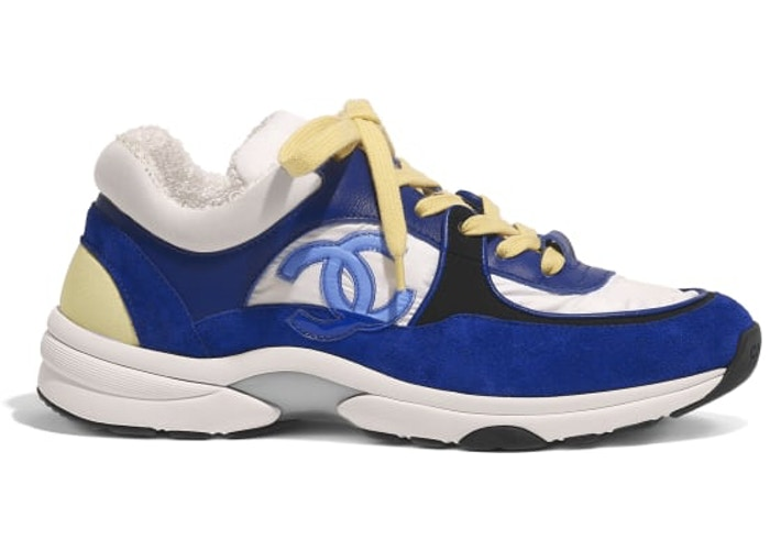 Chanel Low Top Trainer CC Blue
