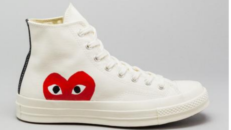 Converse Chuck Taylor All Star 70s Hi Comme Des Garcons PLAY White