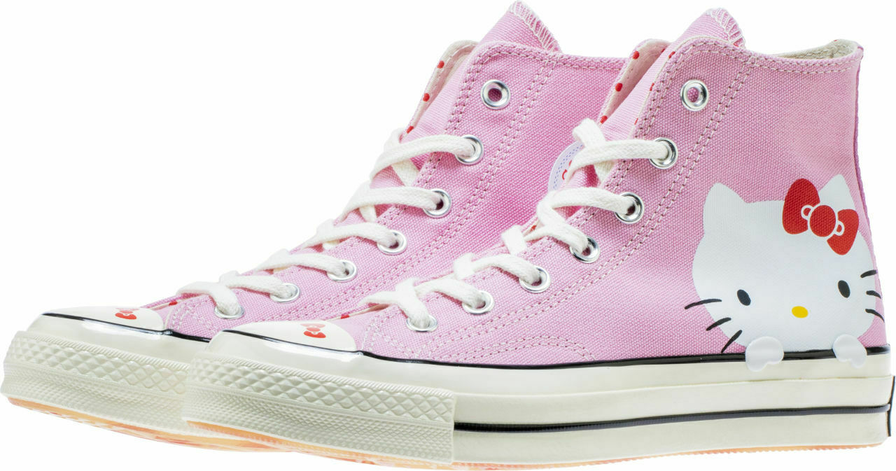 Converse Chuck Taylor All Star 70s Hi Hello Kitty Pink