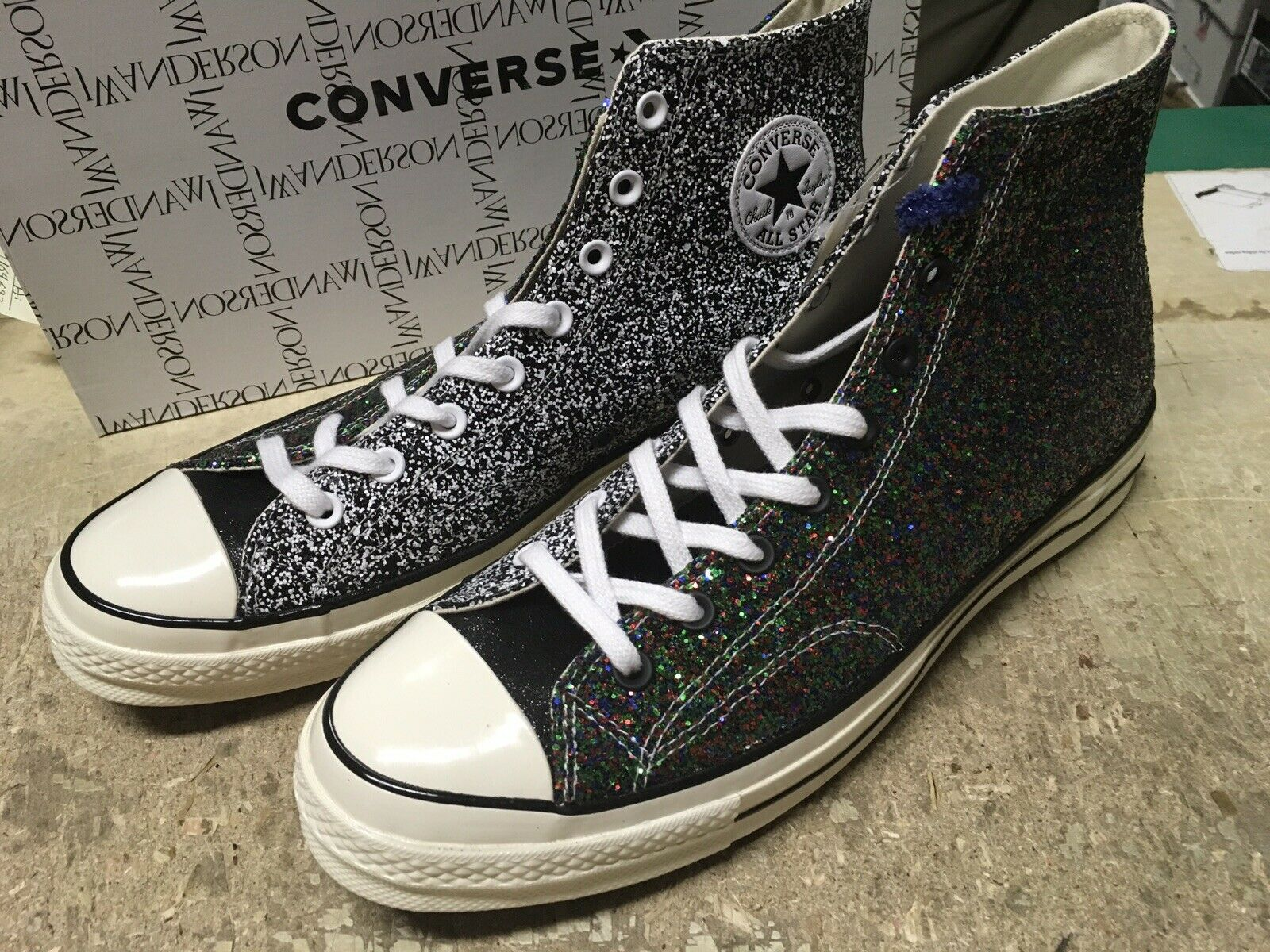 Converse Chuck Taylor All Star 70s Hi JW Anderson Glitter Multi Color