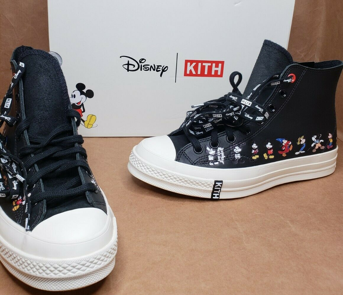 Converse Chuck Taylor All Star 70s Hi Kith x Disney Black