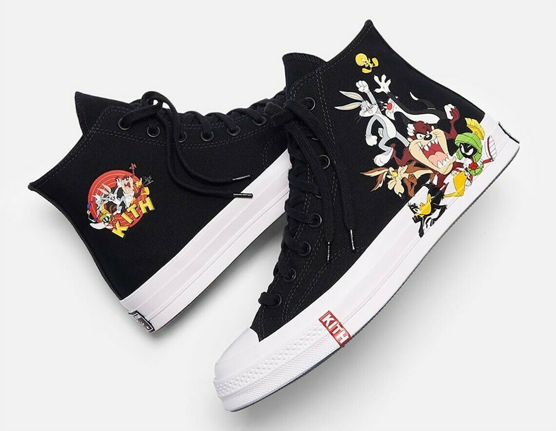 Converse Chuck Taylor All Star 70s Hi Kith x Looney Tunes