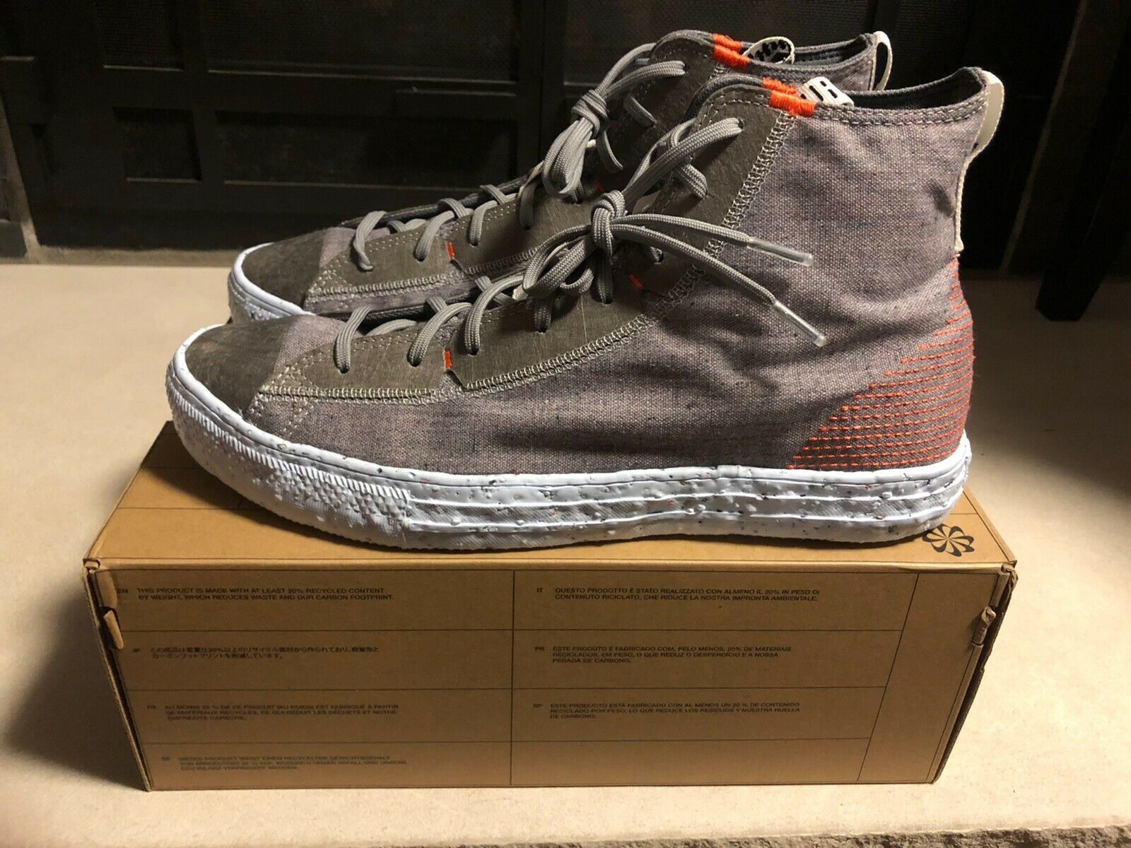 Converse Chuck Taylor All Star Crater Charcoal