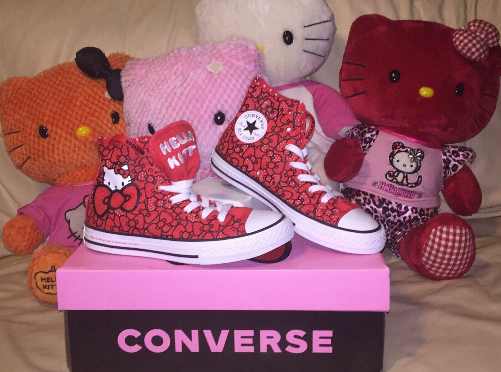 Converse Chuck Taylor All Star Hi Hello Kitty Bows