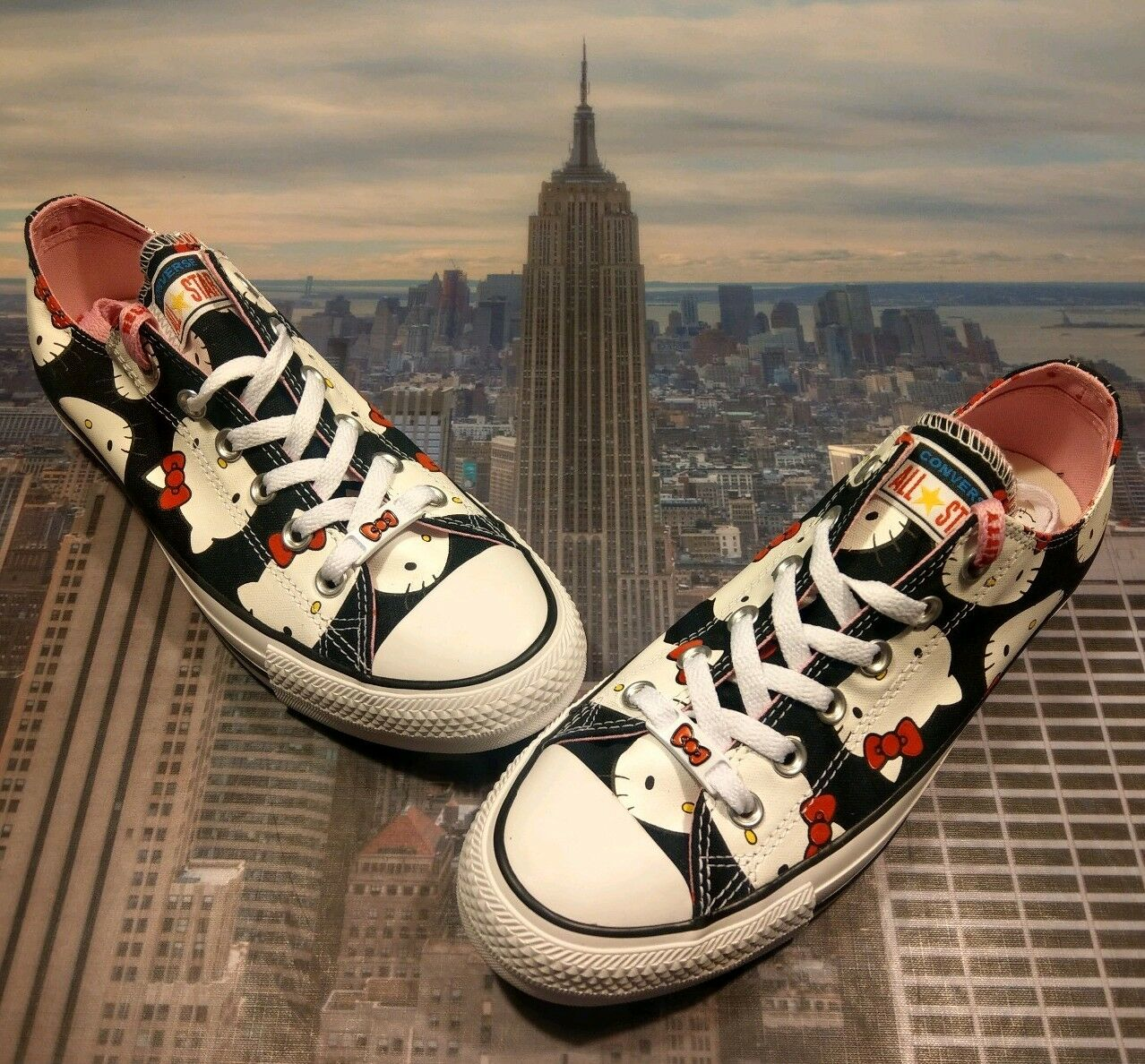 Converse Chuck Taylor All Star Ox Hello Kitty Black