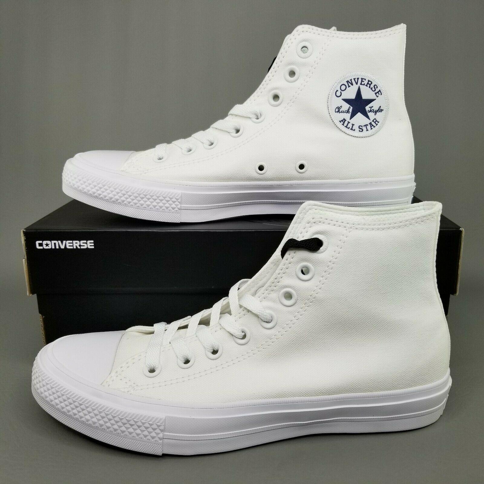 Converse Chuck Taylor II 2 Hi White
