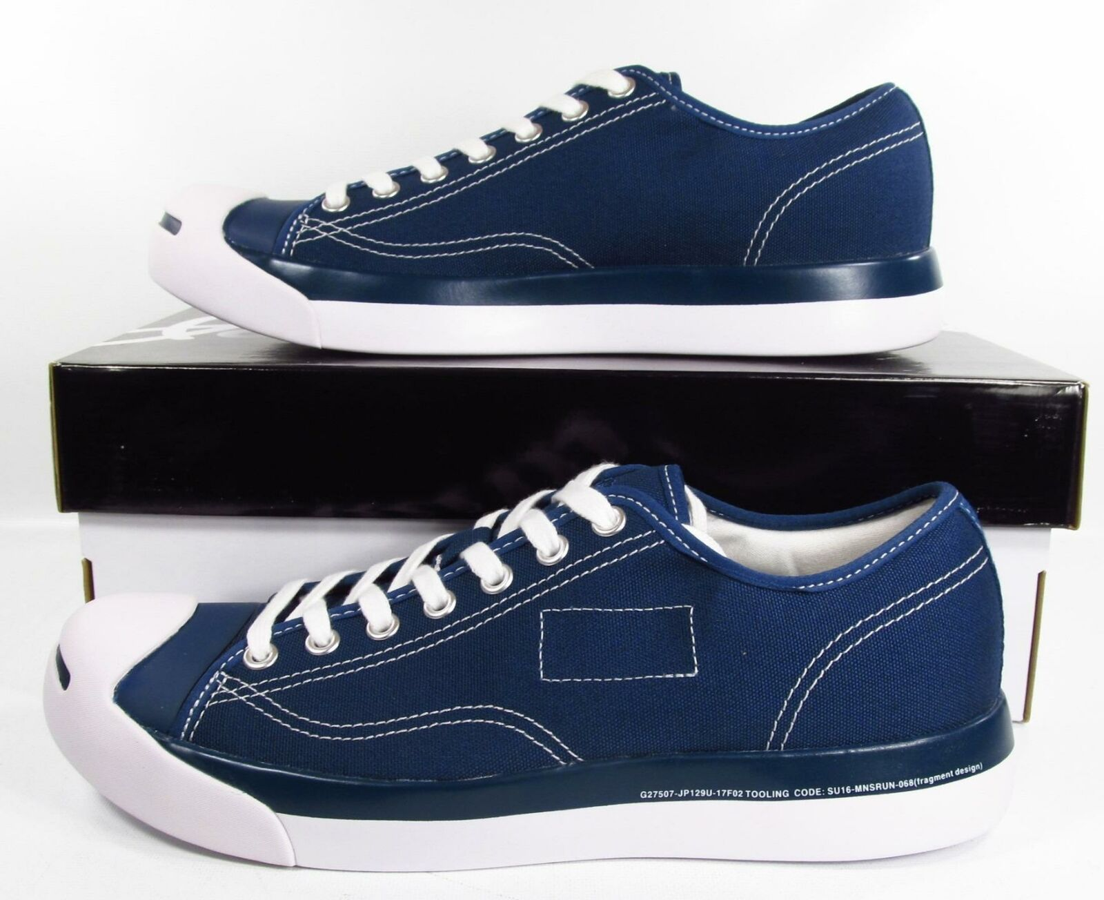 Converse Jack Purcell Modern Fragment Design Navy
