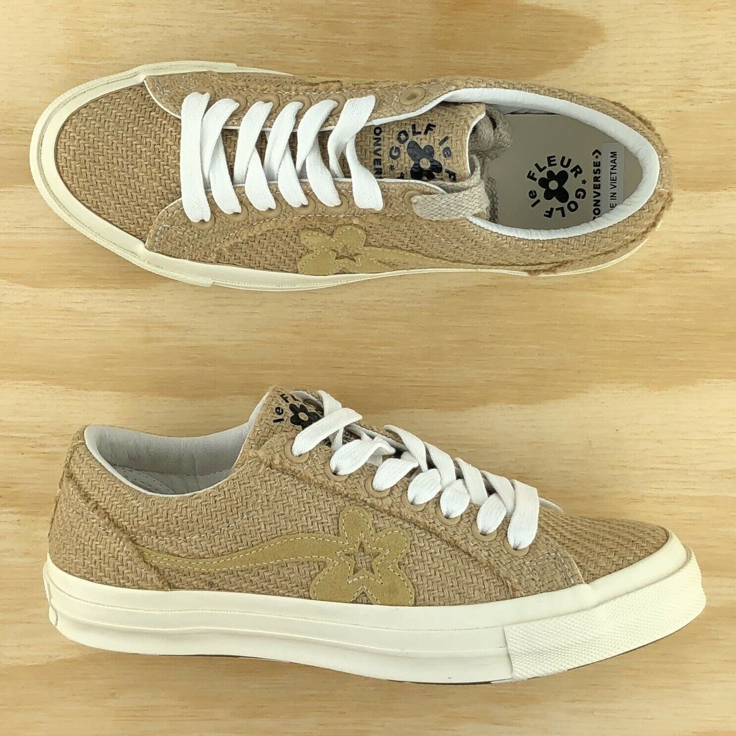 Converse One Star Ox Golf Le Fleur Burlap