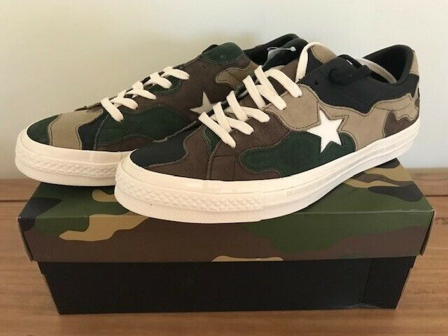 Converse One Star SNS Camo Brown