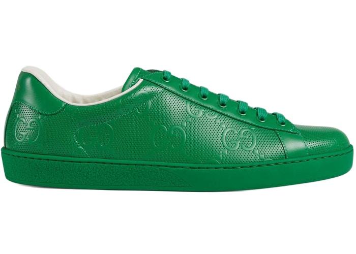 Gucci Ace Green GG