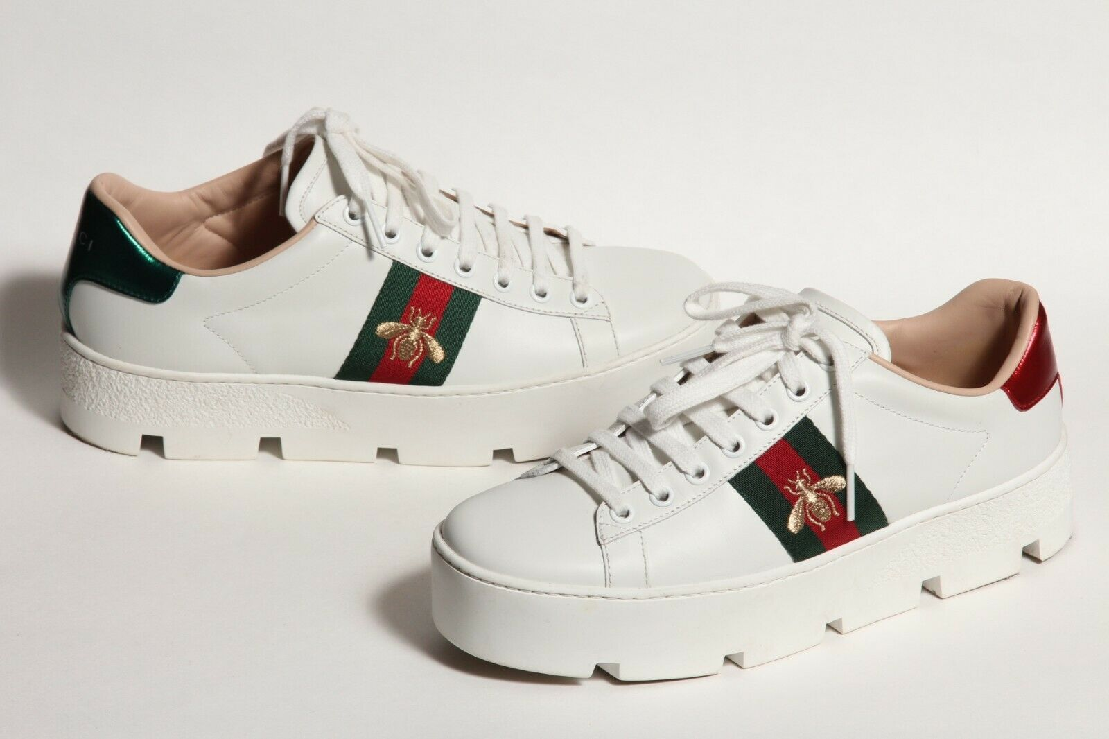 Gucci Ace Platform White