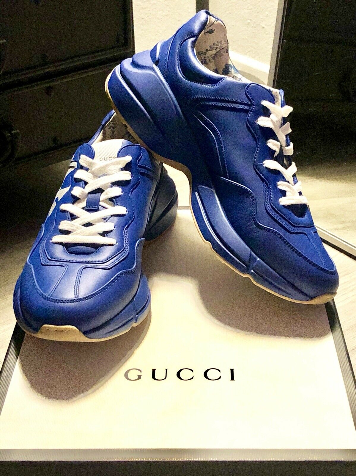 Gucci Rhyton NY Yankees Blue