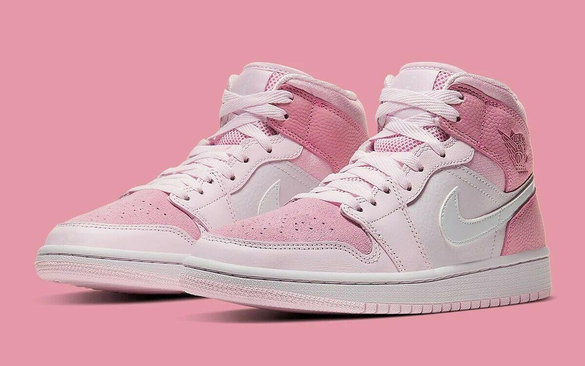 Jordan 1 Mid Digital Pink W
