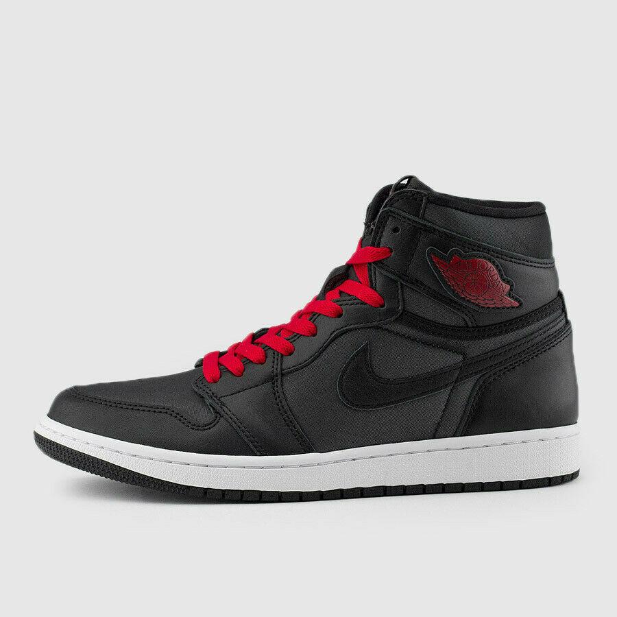 Jordan 1 Retro High Black Gym Red GS