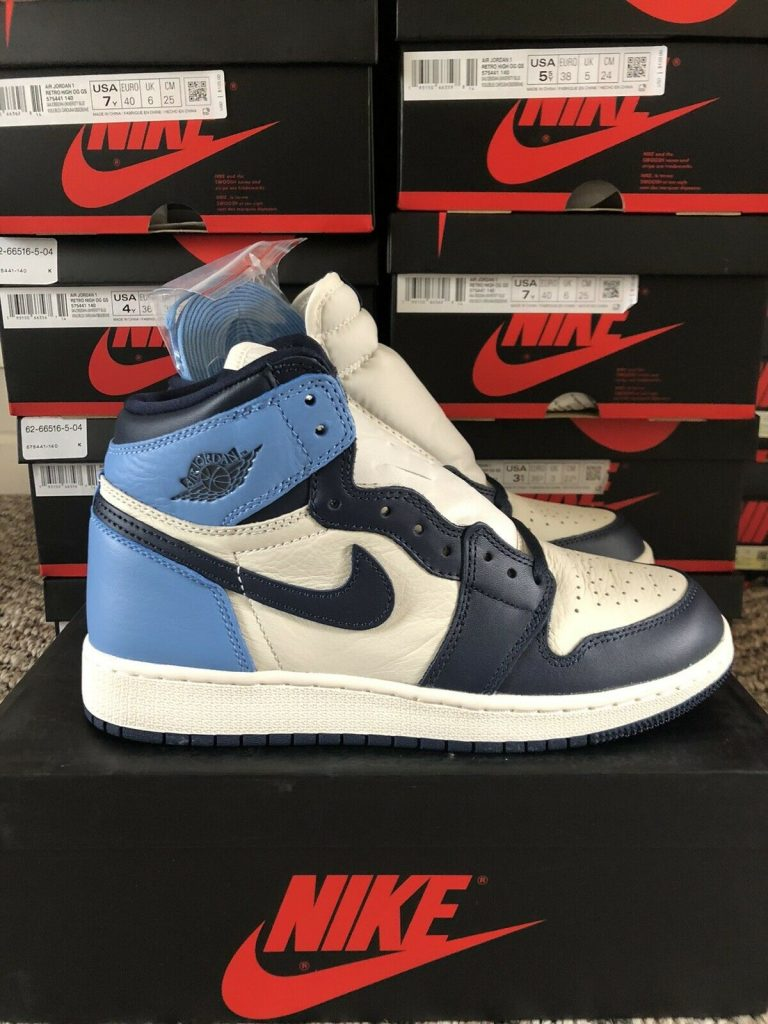 Jordan 1 Retro High Obsidian UNC GS