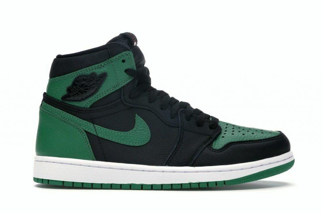 Jordan 1 Retro High Pine Green Black GS