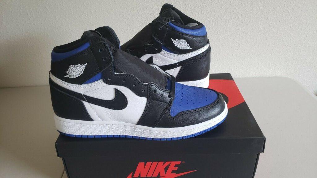 Jordan 1 Retro High Royal Toe GS