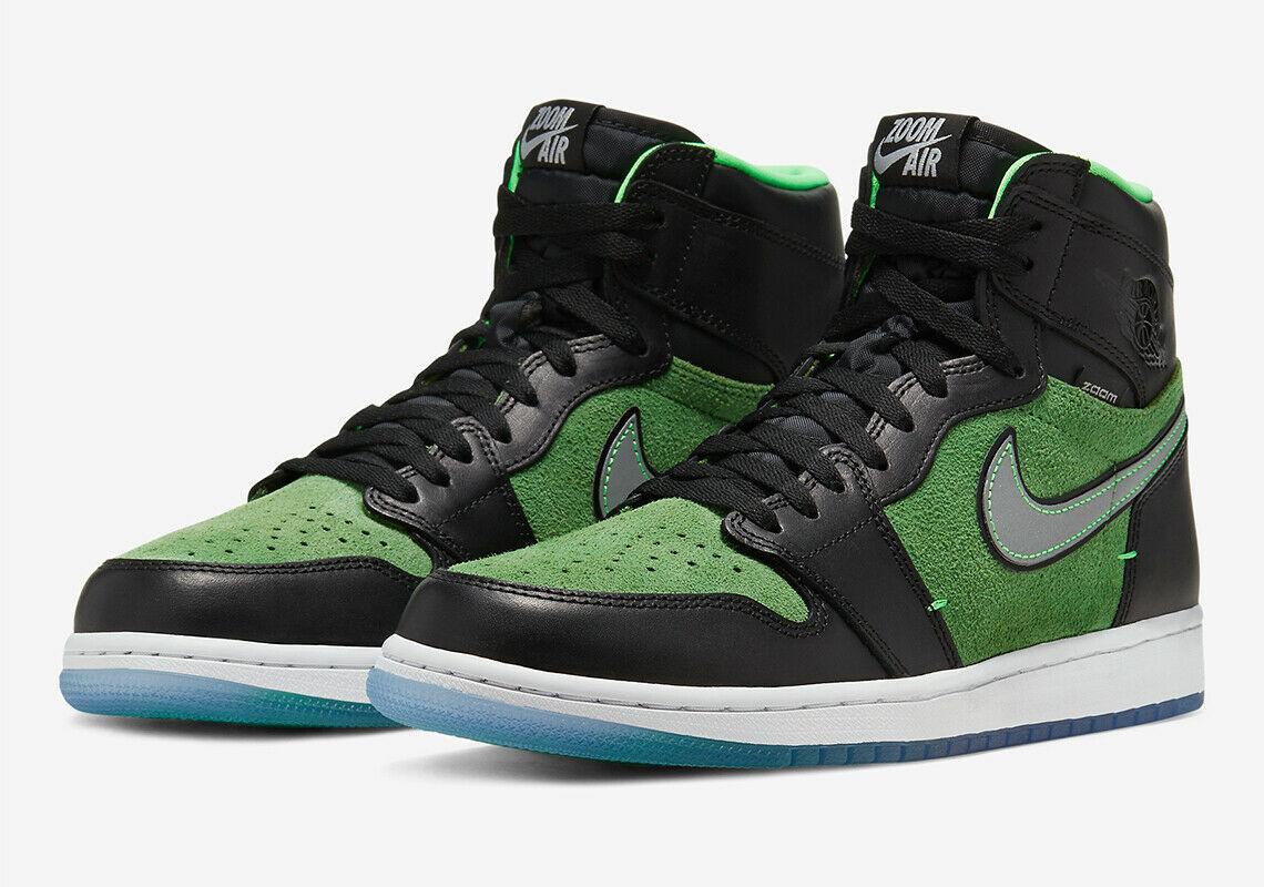 Jordan 1 Retro High Zoom Black Green