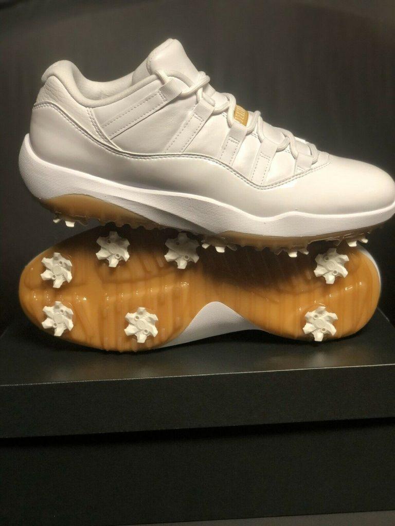Jordan 11 Retro Low Golf White Metallic Gold