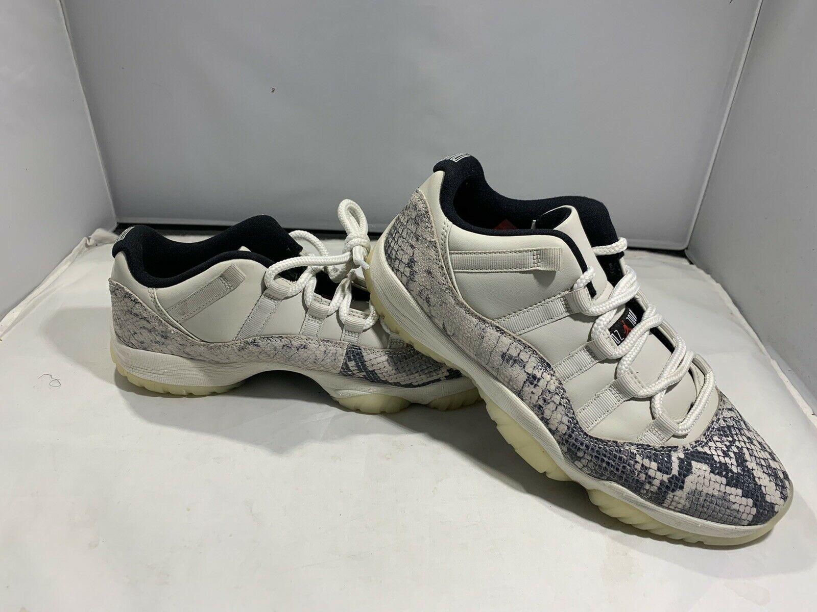 Jordan 11 Retro Low Snake Light Bone