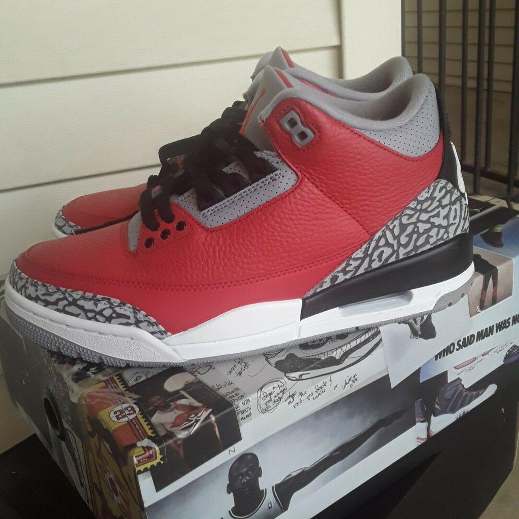 Jordan 3 Retro SE Unite Fire Red