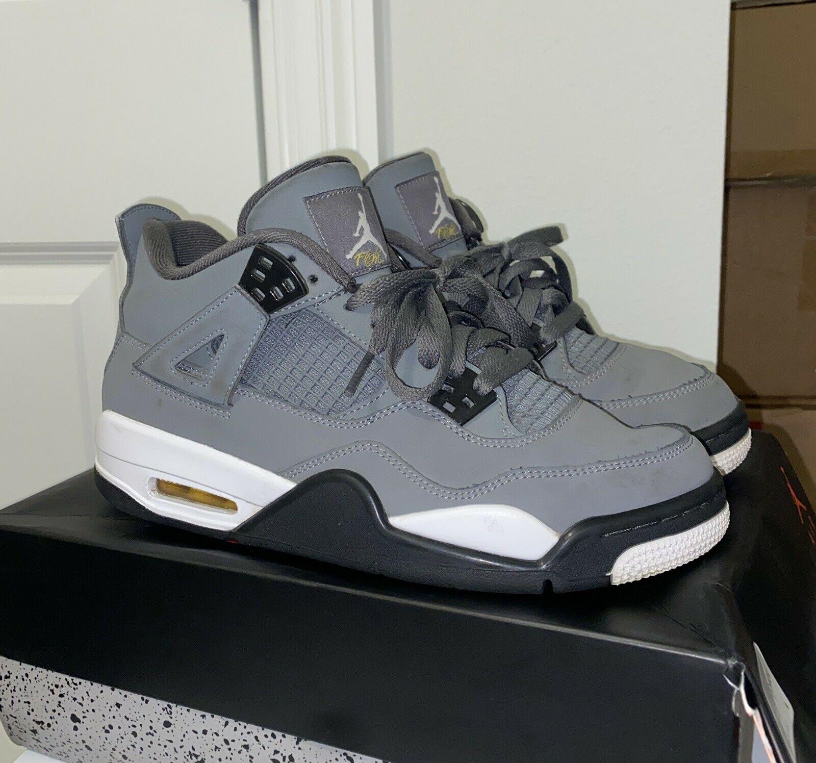 Jordan 4 Retro Cool Grey 2019 GS