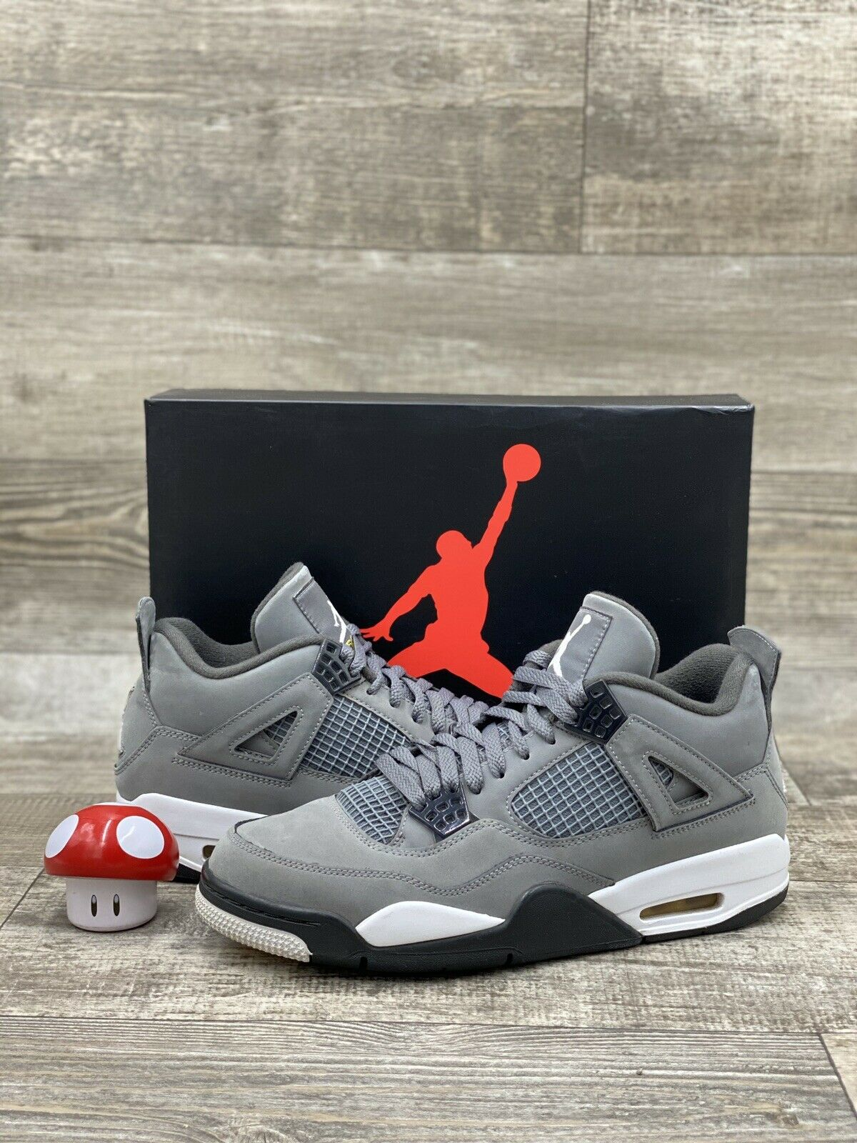 Jordan 4 Retro Cool Grey 2019