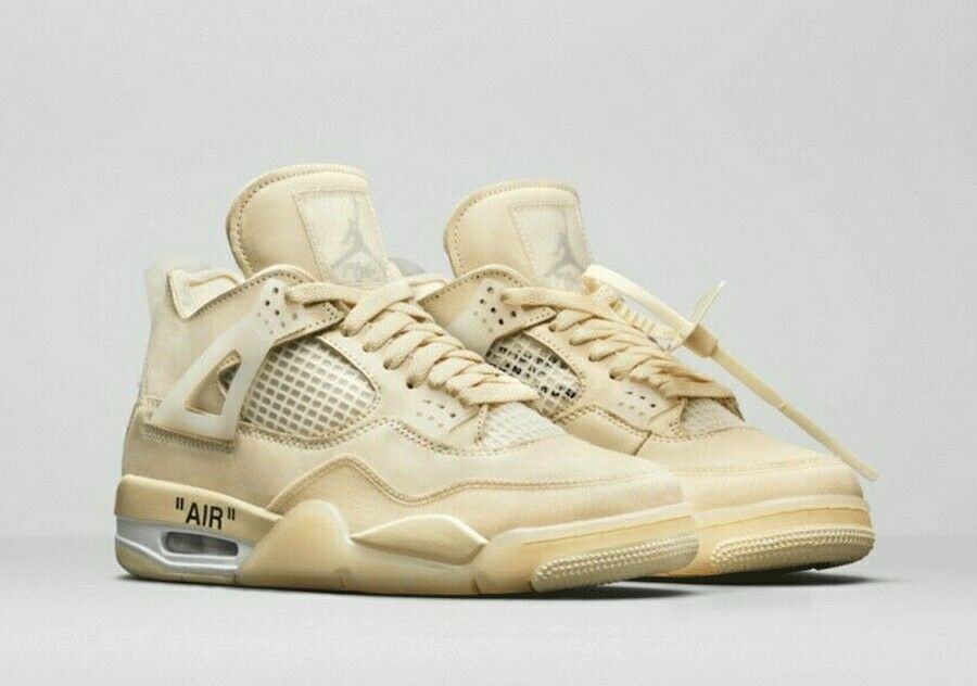 Jordan 4 Retro Off-White Sail W