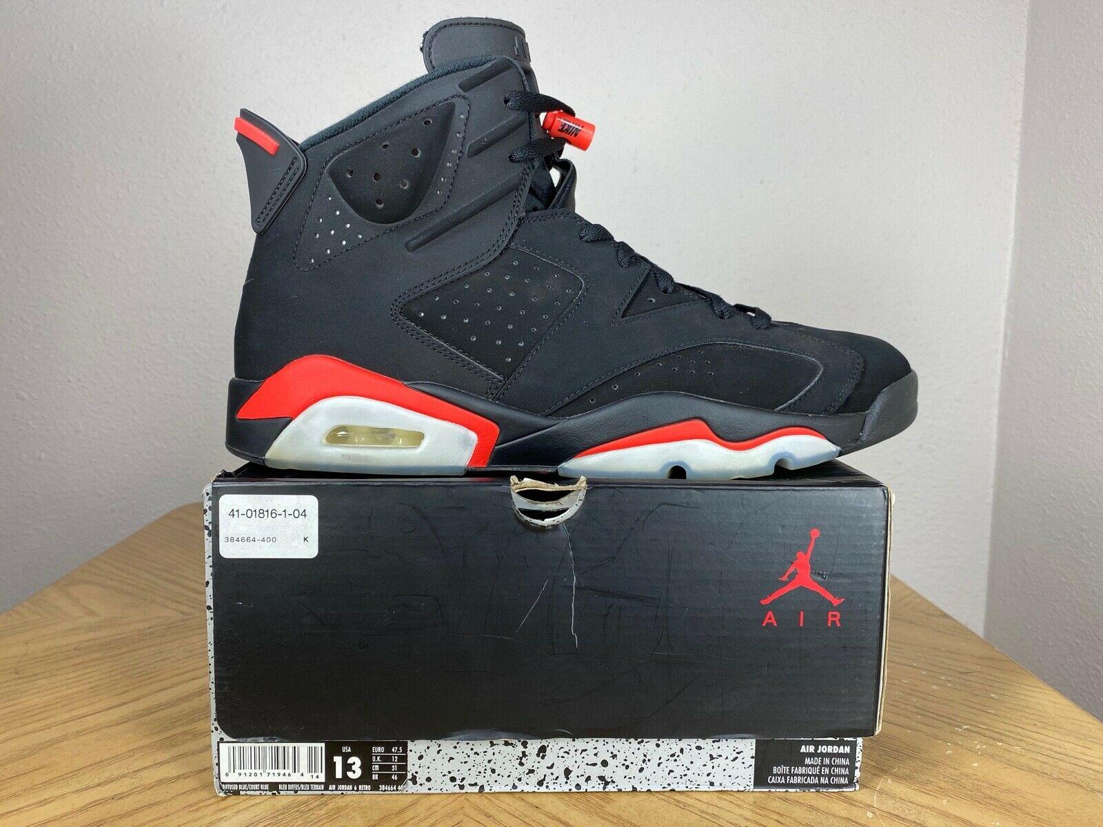 Jordan 6 Retro Black Infrared 2019