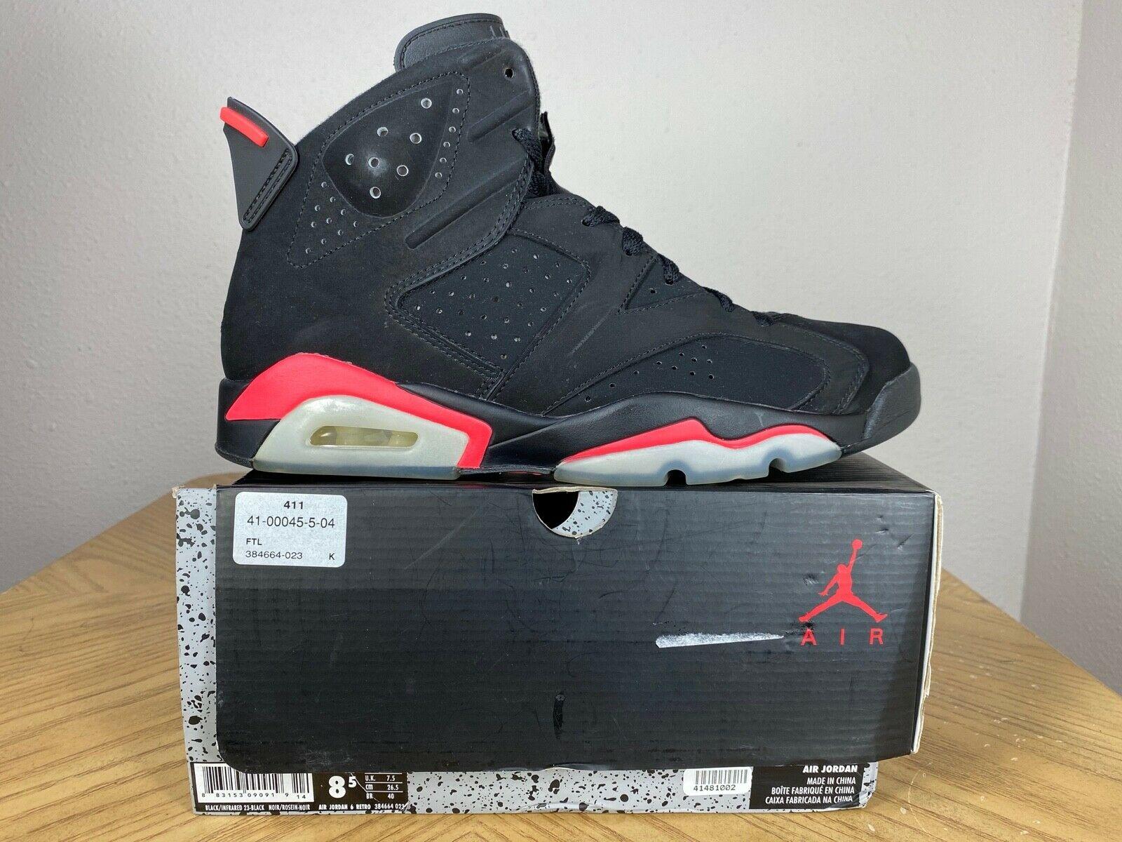 Jordan 6 Retro Infrared Black 2014