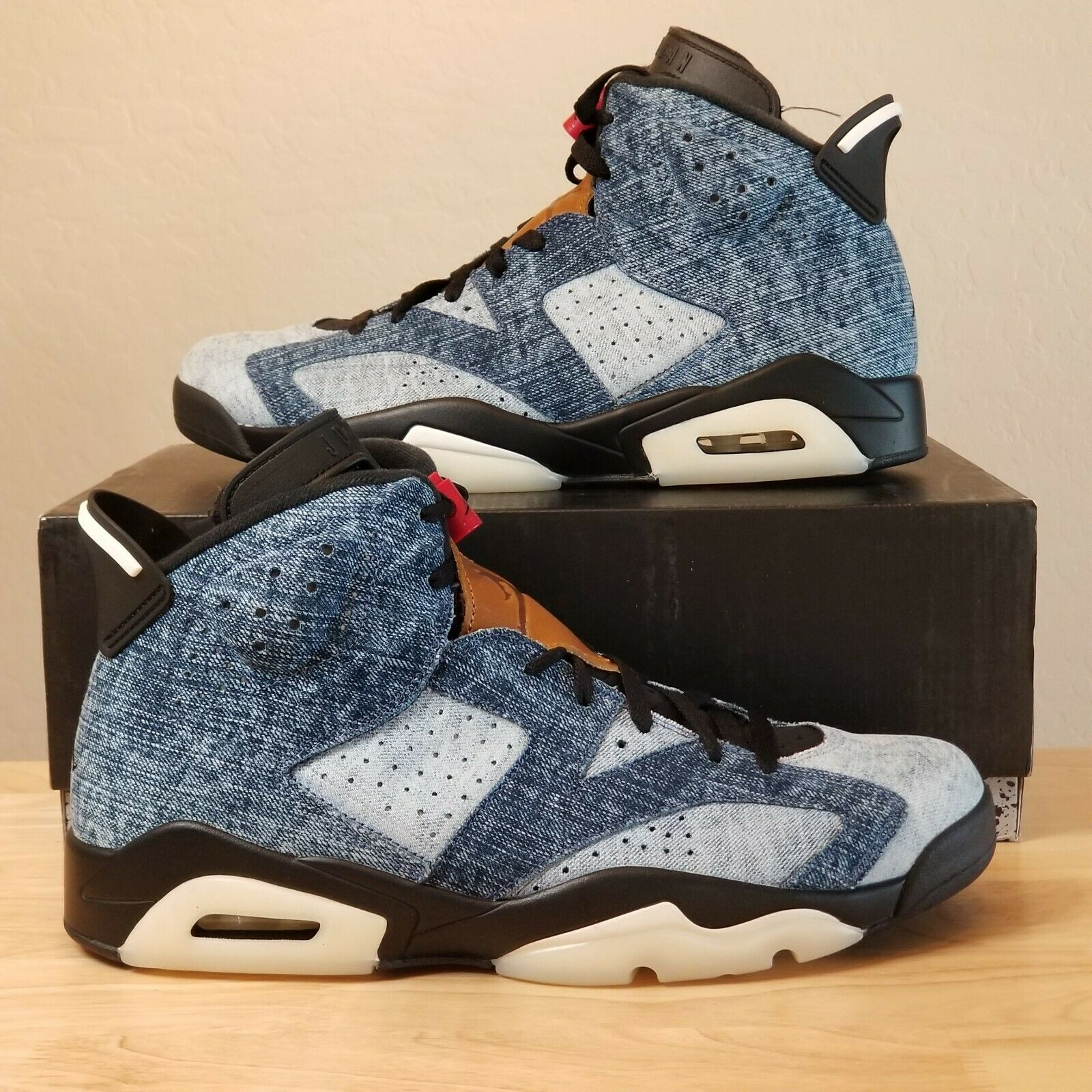 Jordan 6 Retro Washed Denim