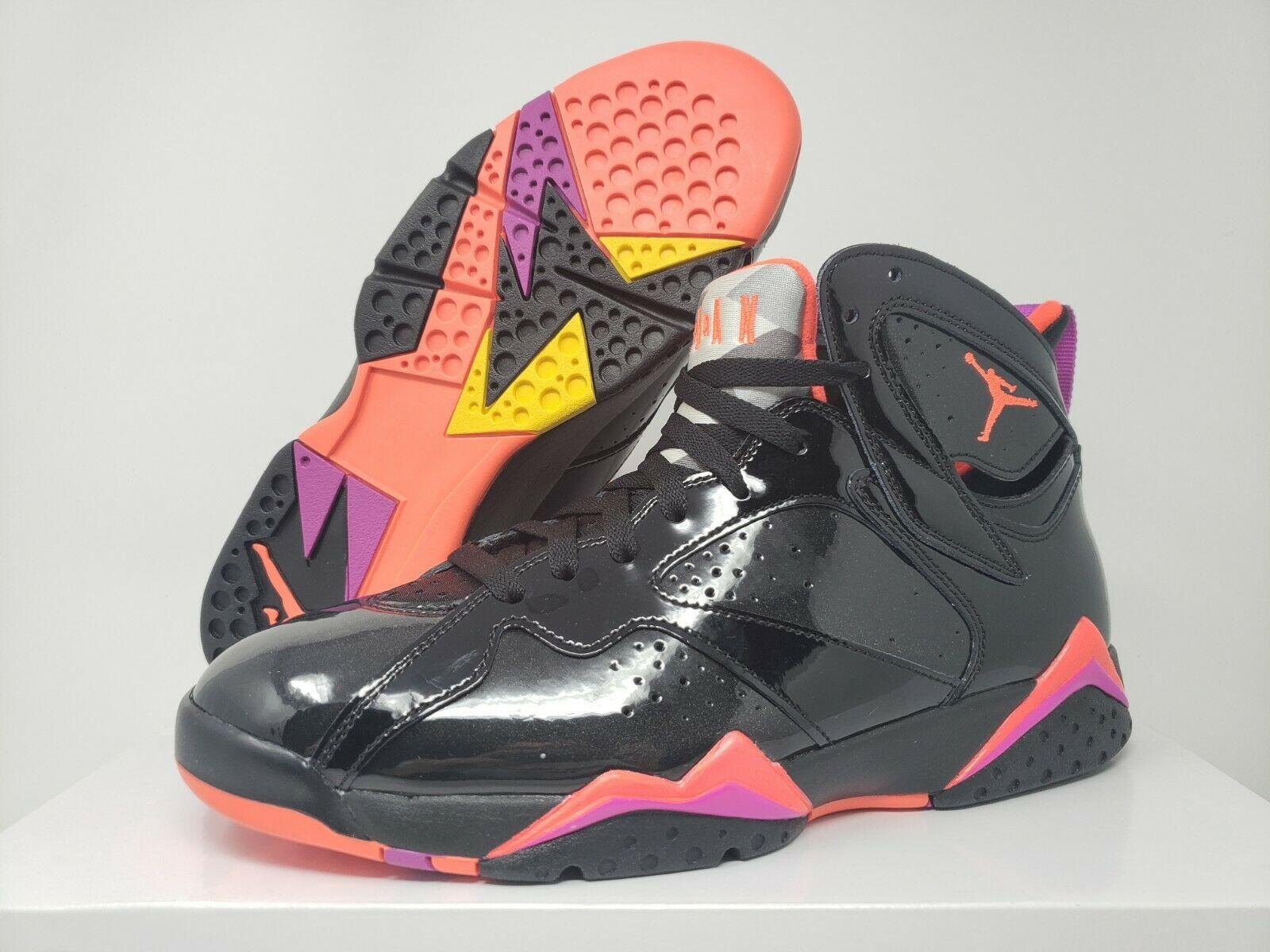 Jordan 7 Retro Black Patent W