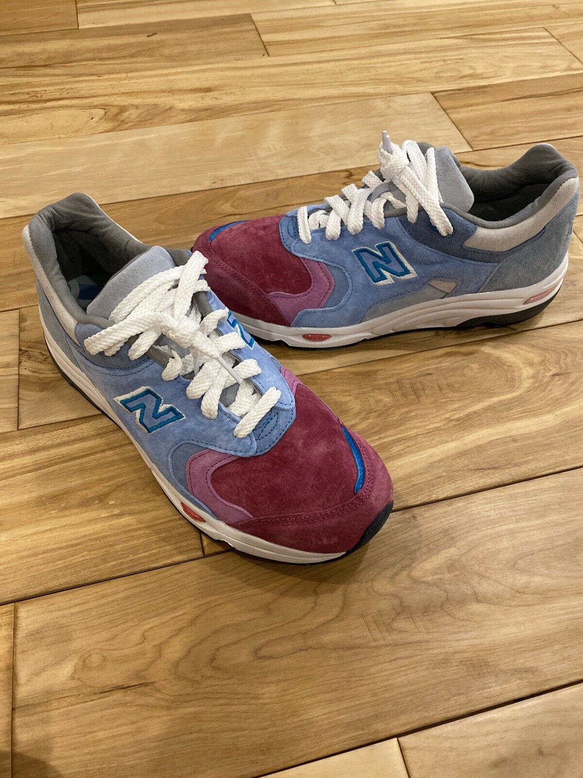 New Balance 1700 Kith The Colorist Pink Toe