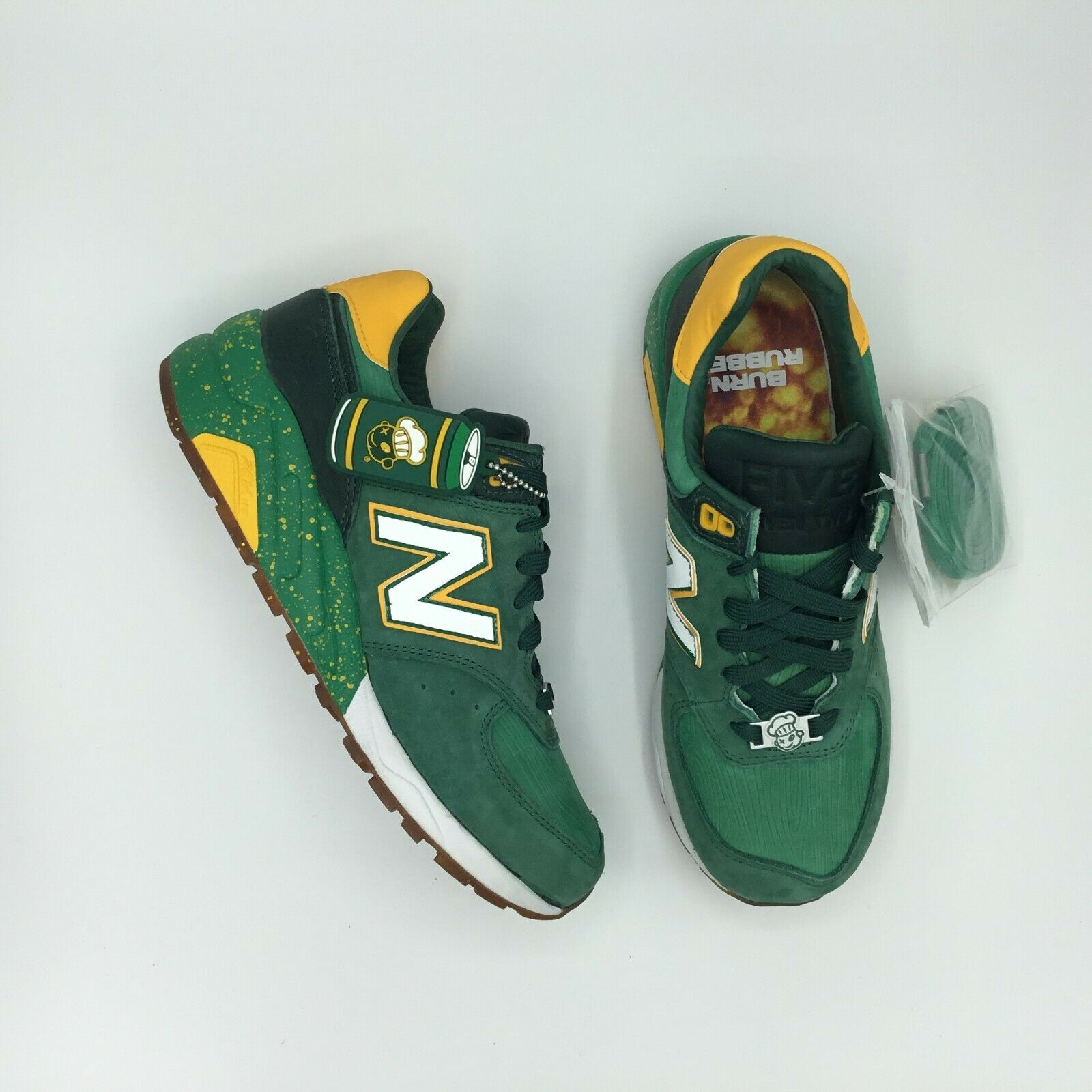 New Balance 572 Burn Rubber Vernors