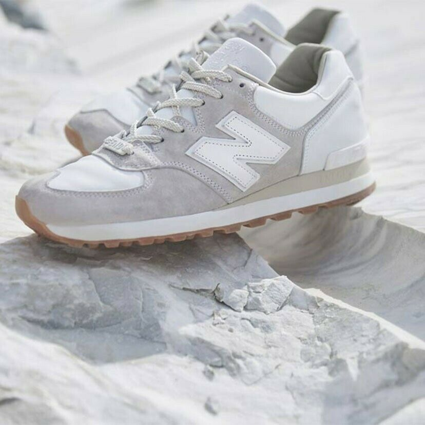 New Balance 575 END Marble White
