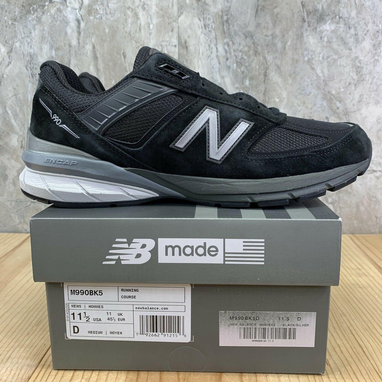 New Balance 990 v5 Black