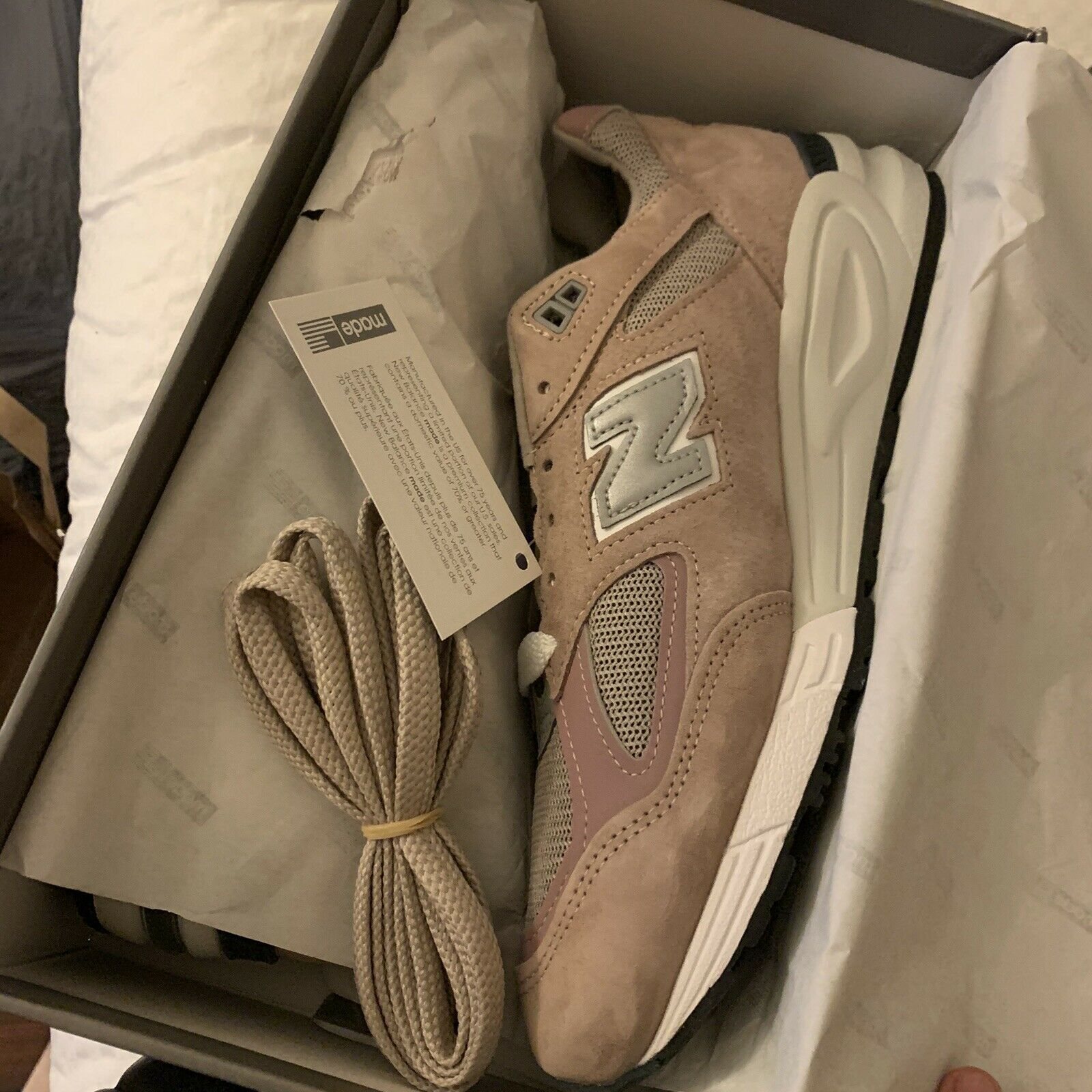 New Balance 990v2 Kithstrike Rose