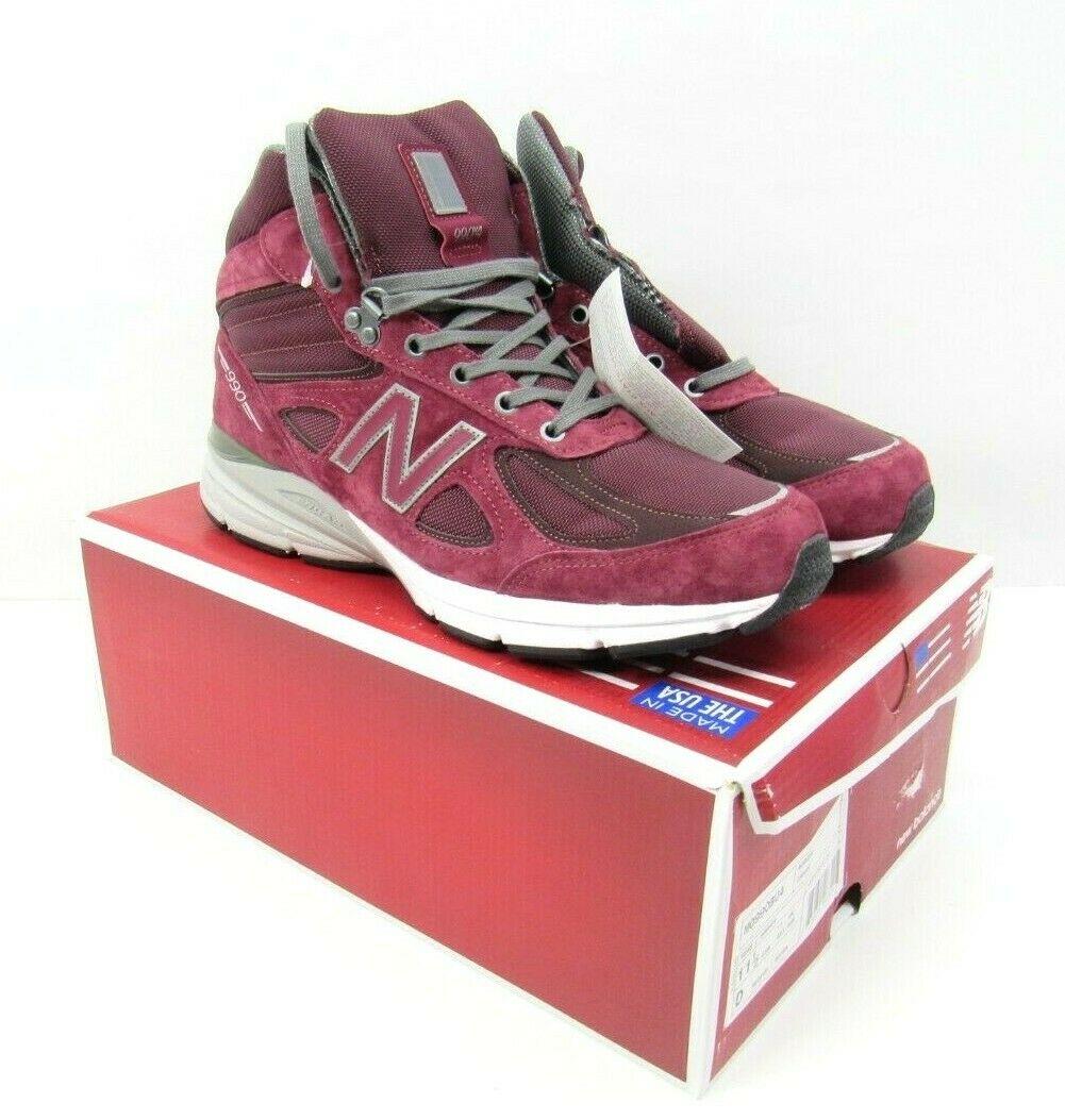 New Balance 990v4 Burgundy