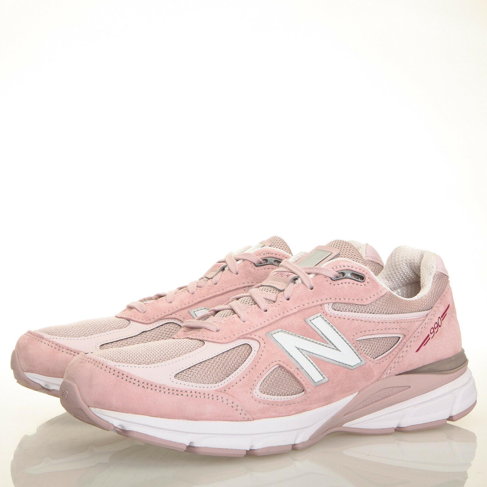New Balance 990v4 Pink Ribbon Faded Rose