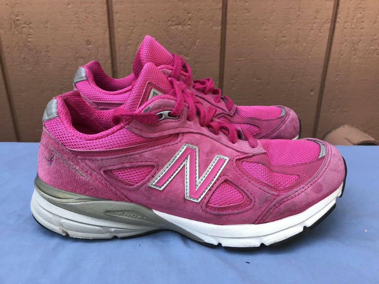 New Balance 990v4 Pink Ribbon Komen Pink