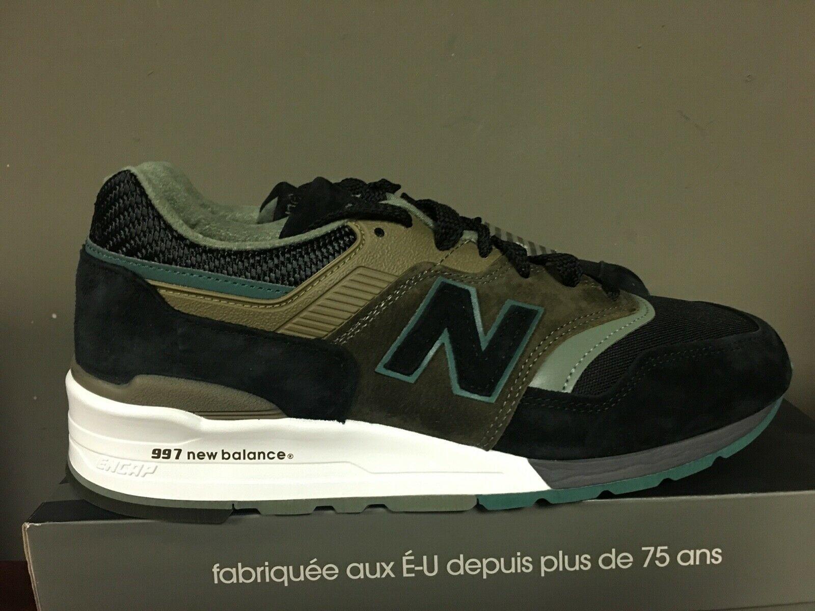 New Balance 997 Black Green