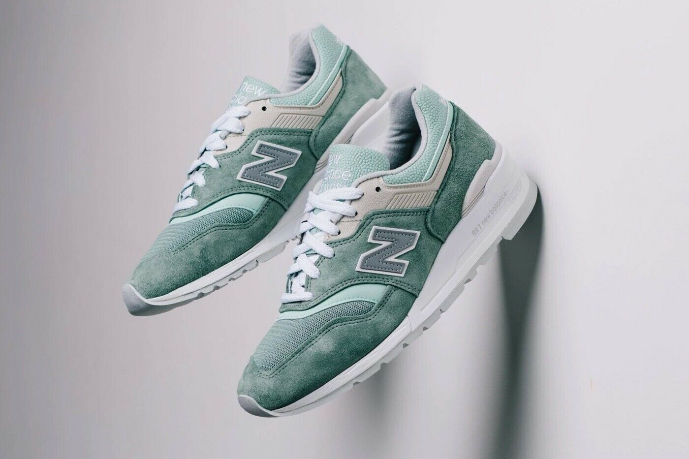 New Balance 997 Less is More Mint