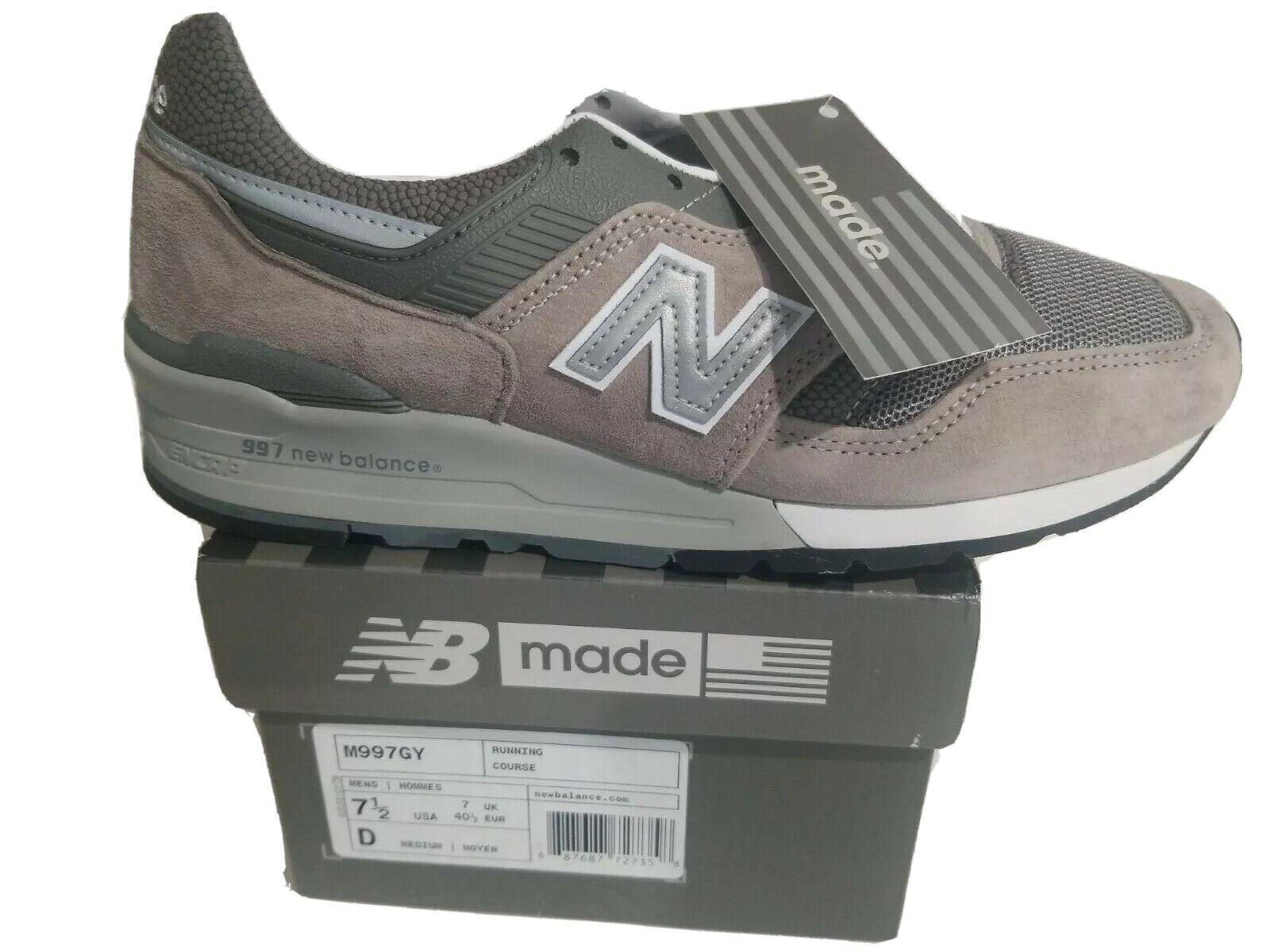 New Balance 997 Made in USA Grey